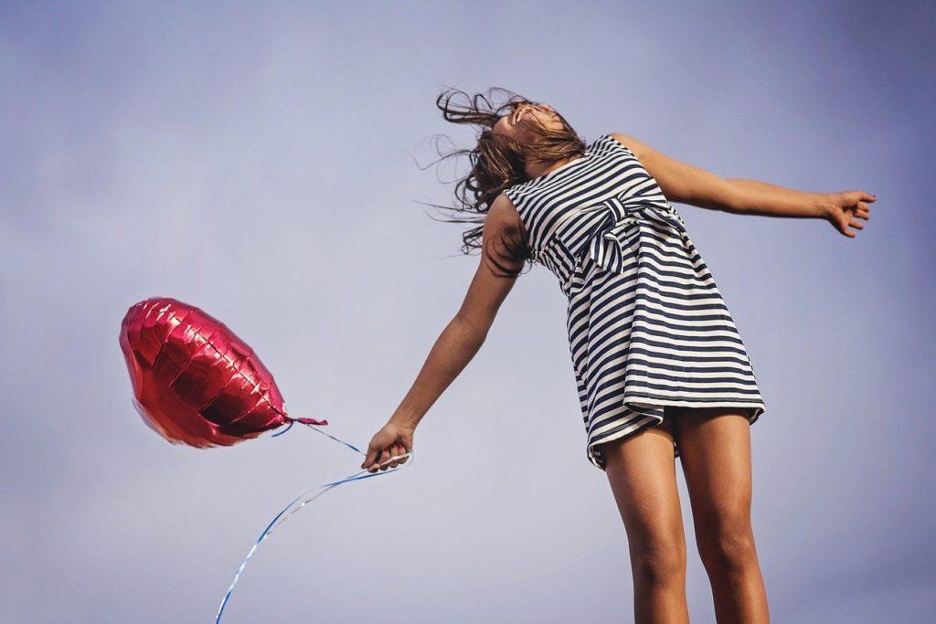 joy, freedom, release